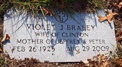 Violet J <i>Lowe</i> Braley