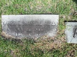 Carrie Travis <i>Braswell</i> Allen