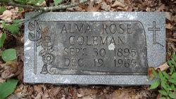 Alma Rose <i>Etheridge</i> Coleman