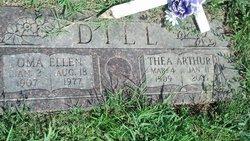 Oma Ellen <i>Feezell</i> Dill