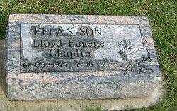 Lloyd Eugene Chap Chaplin