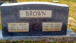 Ludie Pearl <i>Pate</i> Brown