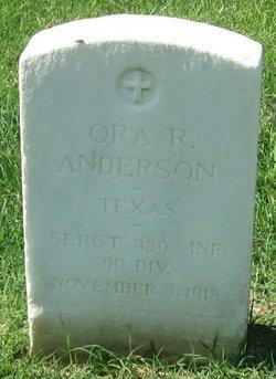 Ora R Anderson