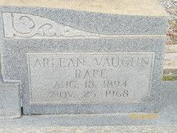 Arlean <i>Vaughn</i> Rape
