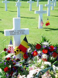 Sgt John Thomas Puckett