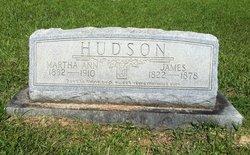 Martha Ann <i>Cain</i> Hudson