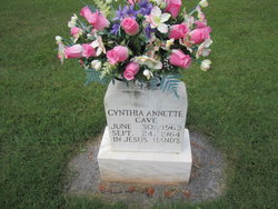 Cynthia Annette Cave