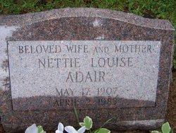 Nettie Louise <i>Goode</i> Adair