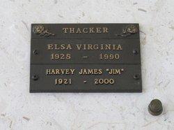 Elsa Virginia Thacker