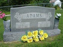 Alice <i>Doss</i> Adams