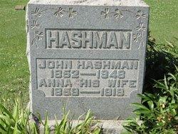 Anna <i>Nixon</i> Hashman