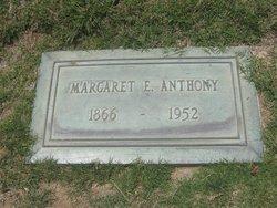 Margaret Elizabeth <i>Lane</i> Anthony