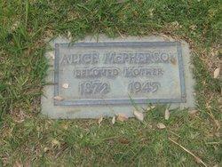 Alice C <i>Peoples</i> McPherson