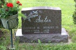George M Sater