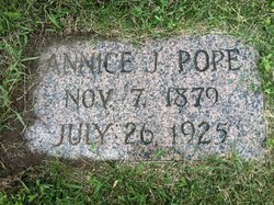 Annice Jessamine <i>Simmons</i> Pope