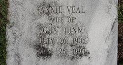 Annie <i>Veal</i> Dunn