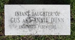 Infant Daughter Dunn