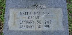 Mattie Mae <i>Veal</i> Garbutt