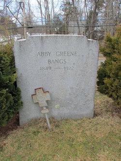 Abby <i>Greene</i> Bangs