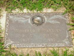 Winifred F. <i>Kanable</i> Wakeley