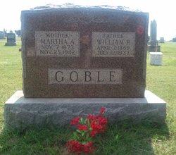 Martha Ann Mattie <i>Mathews</i> Goble