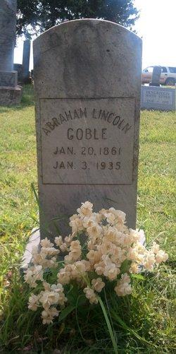 Abraham Lincoln Goble