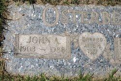 John A Osterberg