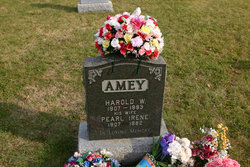 Harold Wesley Amey