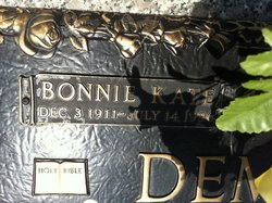Bonnie Kate <i>McCully</i> Dempsey