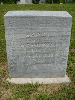 Mary Jane <i>Stroud</i> Anderson