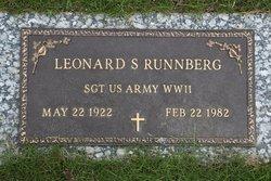 Sgt Leonard Stanley Runnberg