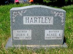Nellie Agnes <i>Kuhns</i> Hartley