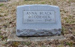 Anna <i>Black</i> McCormick