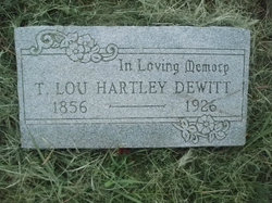 T Lou <i>Hartley</i> Dewitt