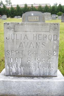 Julia <i>Herod</i> Avans