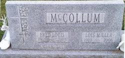 Lois Evelyn <i>Miller</i> McCollum