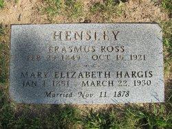 Erasmus Hensley