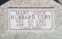 Mary Joyce <i>Hubbard</i> Cory