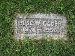 Rose <i>Jene</i> Gauer