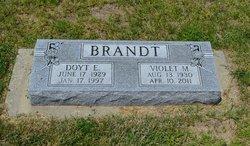 Violet Mae <i>Harvey</i> Brandt