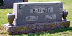 Ophelia M <i>Kennedy</i> Bellamy