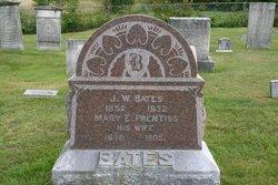 Mary E. <i>Prentiss</i> Bates