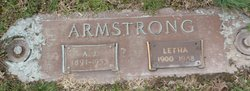 A. J. Armstrong