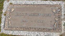 Hannah Matney Boyd