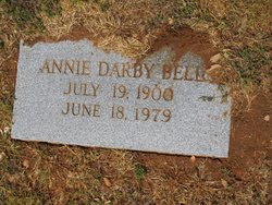 Annie <i>Darby</i> Bell