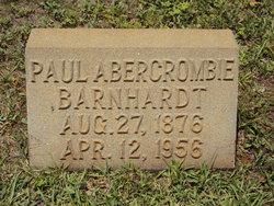 Paul Abercrombie Barnhardt