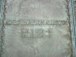 Agnes C. <i>Thompson</i> Allerton