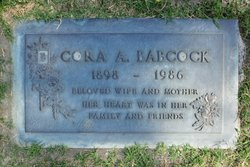 Cora Annettie <i>Hulbert</i> Babcock