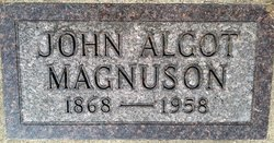 John Algot Magnuson