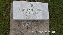 Ruby Lee <i>Rape</i> Newell